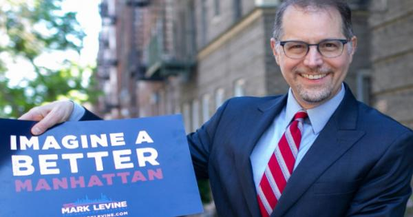 Mark Levine, a candidate for the Manhattan Borough Presidency