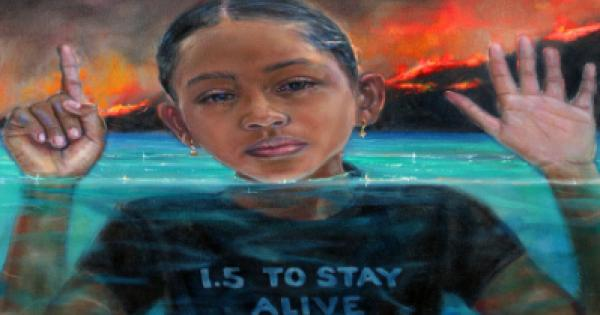 Artist Releases Iconic Painting Supporting Global Climate Justice Campaign