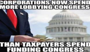 And guess who in Congress received the most contributions? Twenty of the top 25 were Republicans.
