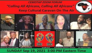 The TV program Cultural Caravan has preserved and honored African Culture for years.