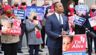 Kentucky Attorney General Daniel Cameron can re-enter a lawsuit at the eleventh hour in order to attempt to revive an abortion b