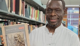 """Zoom launch of my book """"Manufacturing Hate How Africa Was Demonized in Western Media."""""""