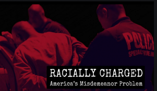 """Brave New Films' documentary """"Racially Charged: America's Misdemeanor Problem"""" explores the use of misdemeanor """"crimes"""" in crimi"""