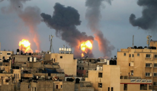 """Occupied Palestinian Territory late on Tuesday, warning that the situation is """"escalating towards a full-scale war"""""""