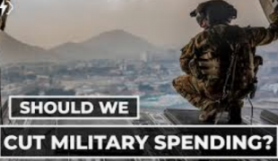 Our country continues to expend nearly half its discretionary budget on its military might